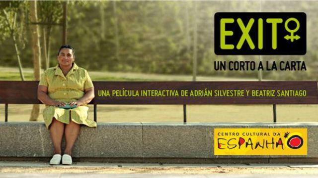 EXIBIÇÃO DO FILME: EXIT, UN CORTO A LA CARTA