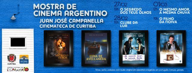 MOSTRA DE CINEMA ARGENTINO: JUAN JOSÉ CAMPANELLA