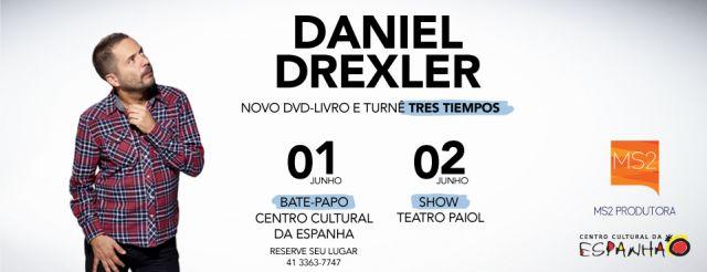 BATE-PAPO COM DANIEL DREXLER