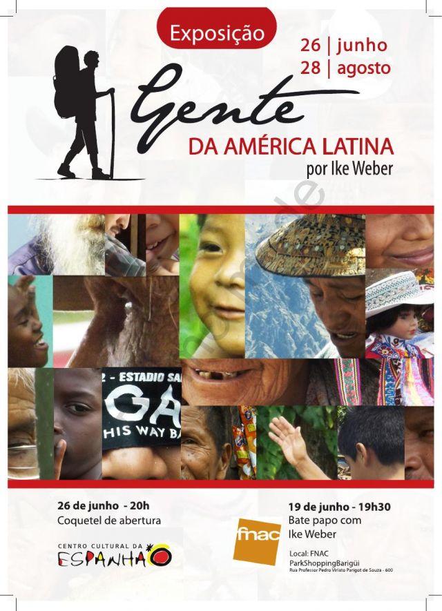 EXPOSIÇÃO DE FOTOS: GENTE DA AMÉRICA LATINA