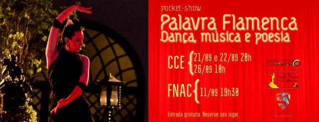POCKET-SHOW: PALAVRA FLAMENCA