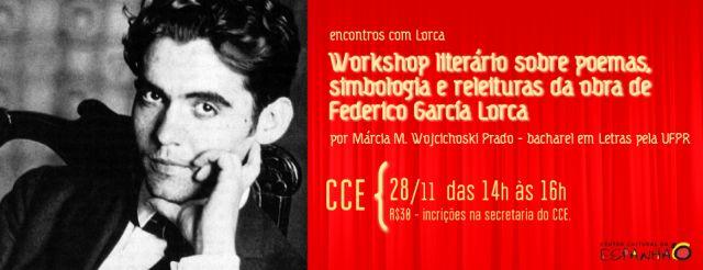 WORKSHOP LITERÁRIO SOBRE LORCA