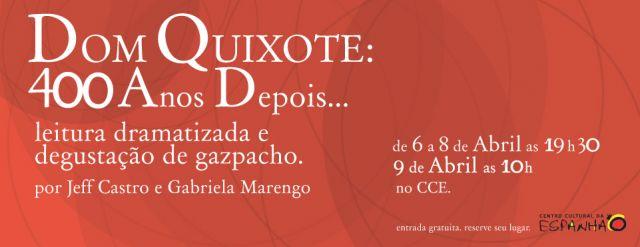 Dom Quixote: 400 anos depois...