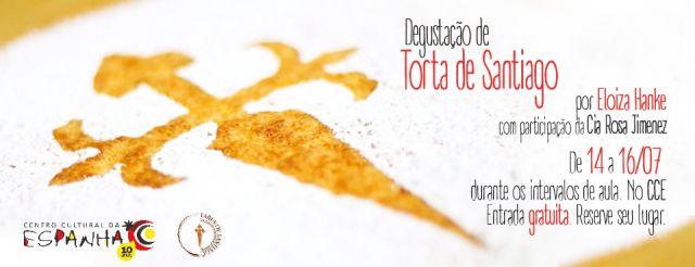 DEGUSTAÇÃO DE TORTA DE SANTIAGO