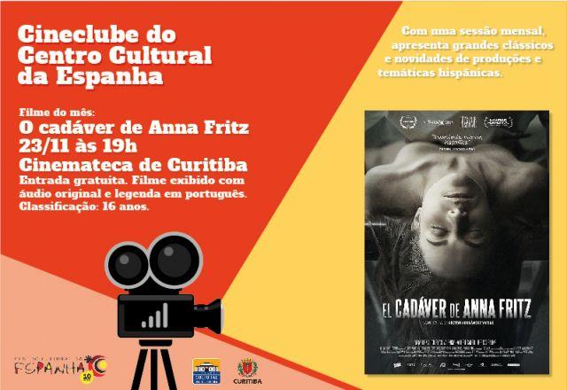 CINECLUBE DO CENTRO CULTURAL DA ESPANHA - NOVEMBRO 2016