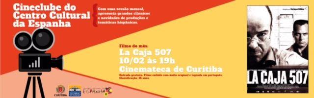 CINECLUBE DO CENTRO CULTURAL DA ESPANHA - FEVEREIRO 2017