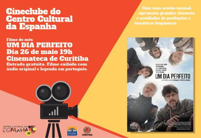 CINECLUBE DO CENTRO CULTURAL DA ESPANHA - MAIO 2017