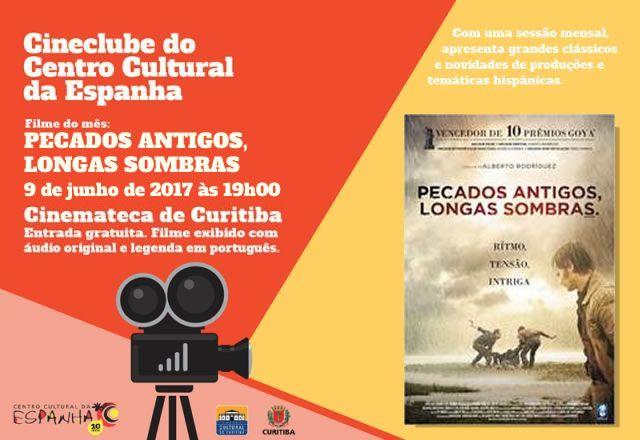 CINECLUBE DO CENTRO CULTURAL DA ESPANHA - JUNHO 2017