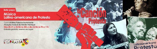 BATE-PAPO:  MÚSICA LATINO-AMERICANA DE PROTESTO