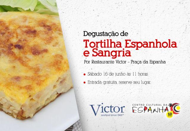 DEGUSTAÇÃO DE TORTILLA ESPANHOLA E SANGRIA