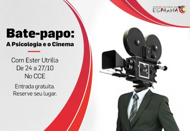 BATE-PAPO: PSICOLOGIA E CINEMA