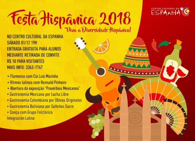 FESTA HISPÂNICA 2018