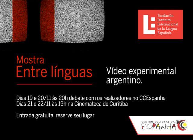 Mostra Entre línguas - Vídeo experimental argentino