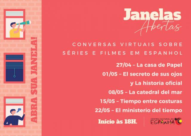 Janelas Abertas - Conversas sobre séries e filmes em espanhol
