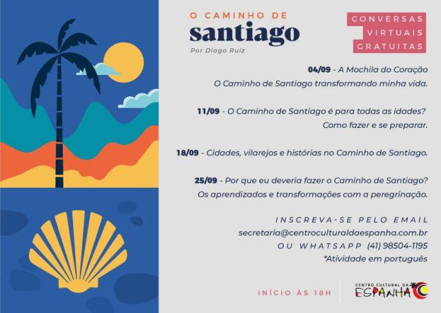 CONVERSAS VIRTUAIS - CAMINHO DE SANTIAGO